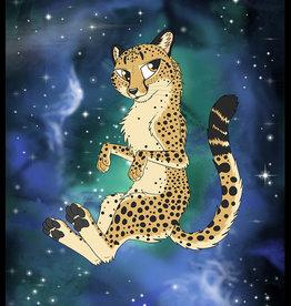 Kitty Fluff Flauschige Decke- Gepard