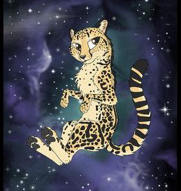 Kitty Fluff Fluffy Blanket-King Cheetah