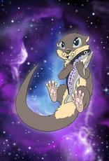 Kitty Fluff Flauschige Decke-Otter