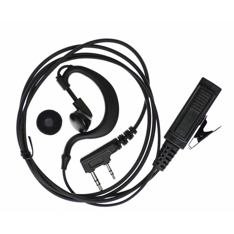 Heavy Duty Headset voor BaoFeng portofoons