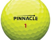 Pinnacle colored golf balls