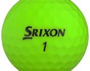 Srixon colored golf balls