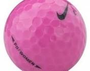 Nike colored golf balls