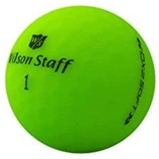 Wilson Staff DX2 Optix matte green - new in box 12 pieces