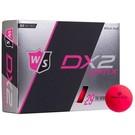Wilson Staff Wilson Staff DX2 Optix matte pink • new in box 12 pieces