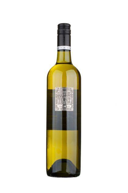 Berton Vineyards The White Viognier metal label - Berton Vineyards