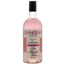 GinSin GinSin Strawberry - Alcoholvrij