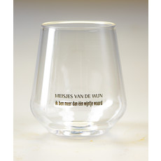 MvdW Meisjes van de Wijn Festivalglas (plastic)