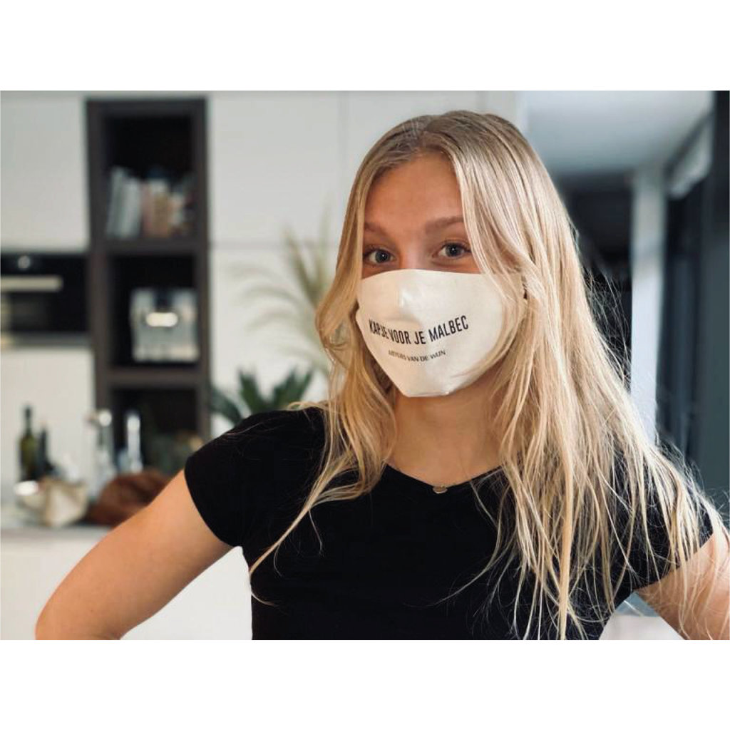 Meisjes van de Wijn Mouth Mask - Kapje voor je Malbec
