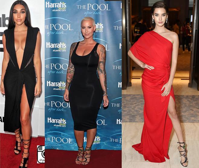 CHANTEL JEFFRIES - AMBER ROSE - AMANDA STEELE
