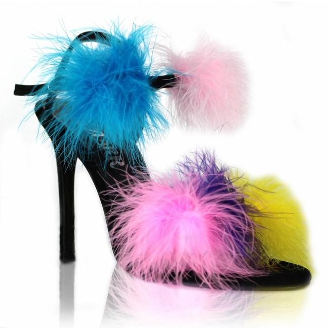 The Kiki Feather Sandals