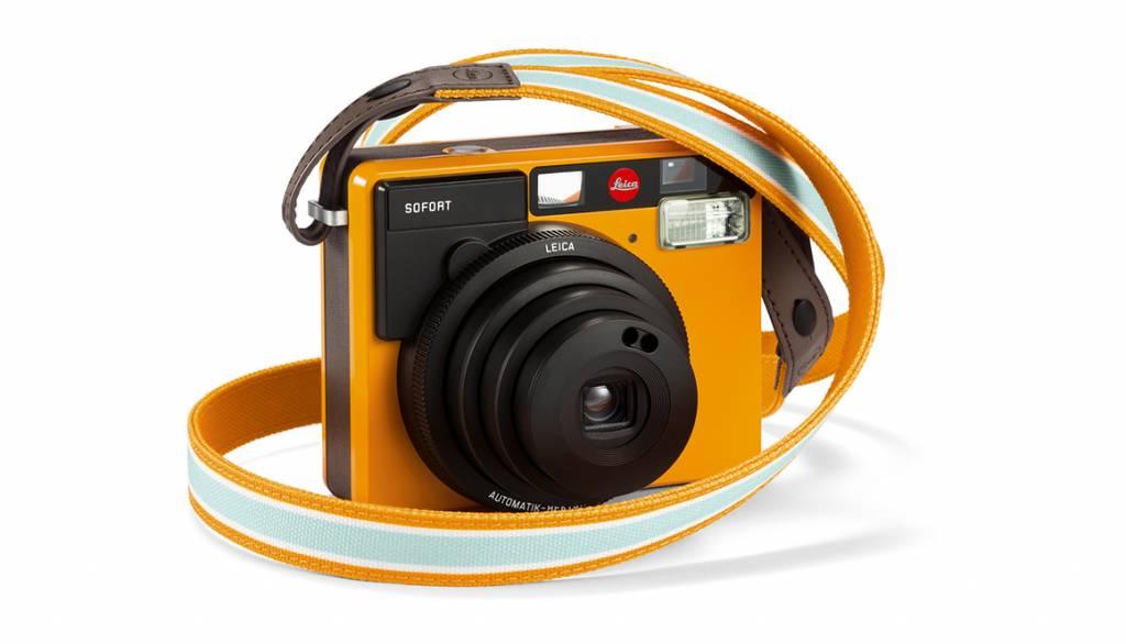 Leica Strap SOFORT, orange