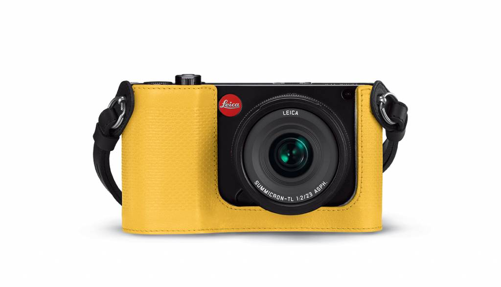 Leica Protector TL, leather, yellow