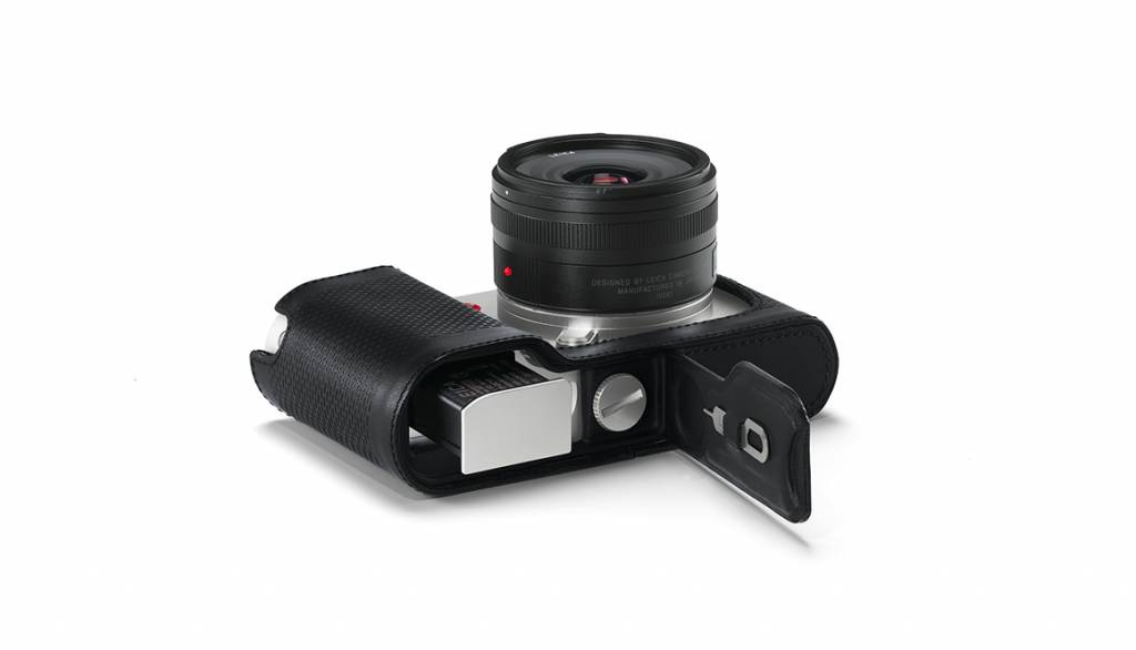 Leica Protector TL, leather, black
