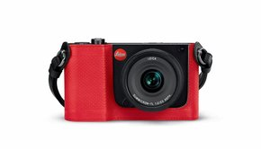 Leica Leica Protector TL, leather, red