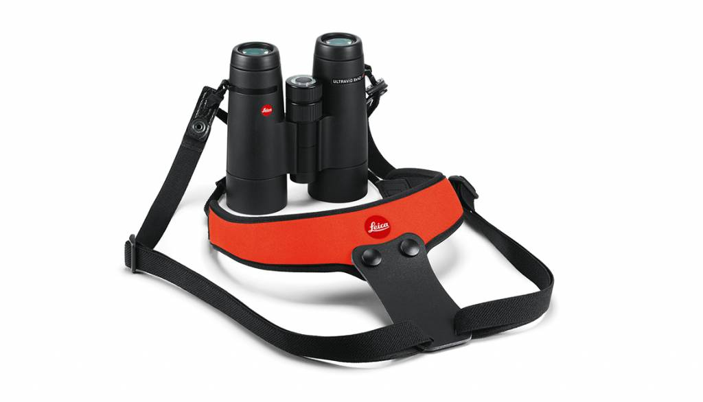 Leica Neoprene Binocular Strap Sport, juicy orange