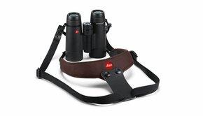 Leica Leica Neoprene Binocular Strap Sport, chocolate brown