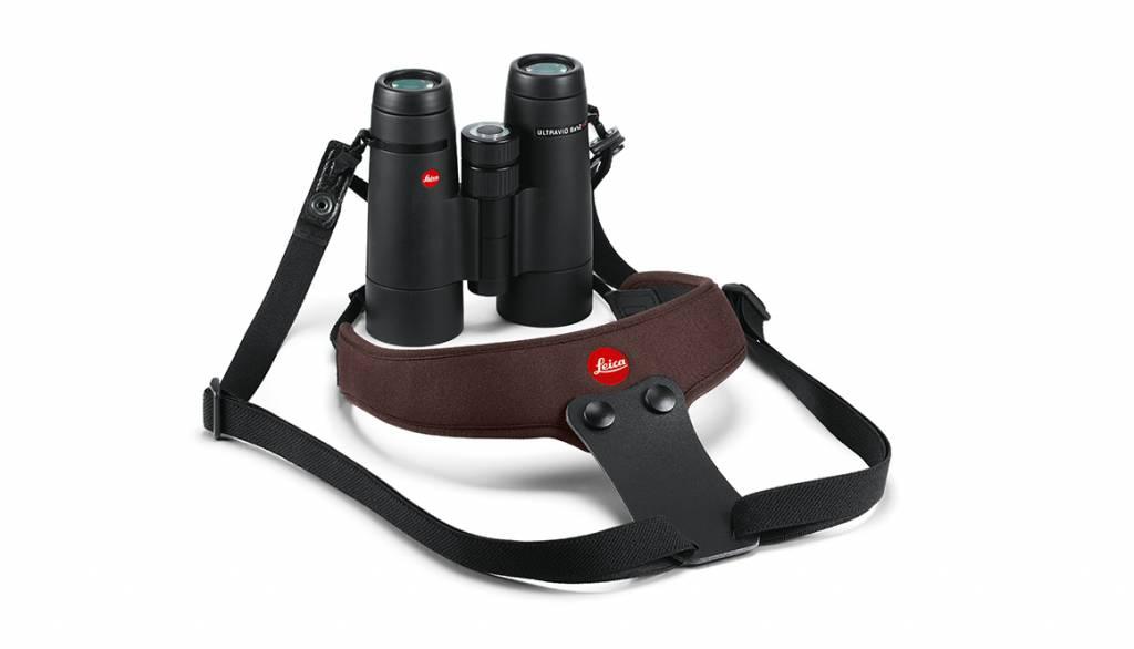 Leica Neoprene Binocular Strap Sport, chocolate brown