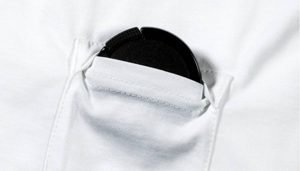 Leica T-Shirt Elmar Lens, size S