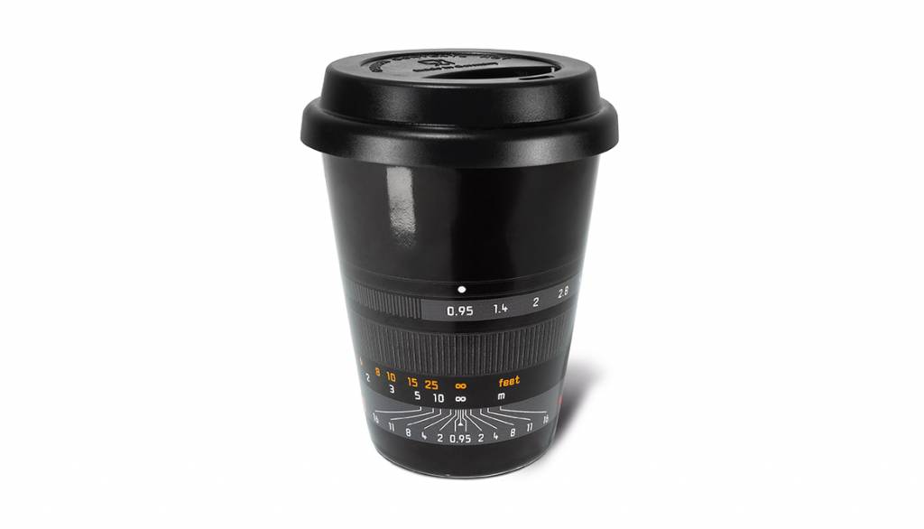Leica Coffee Mug Noctilux-M 50, black