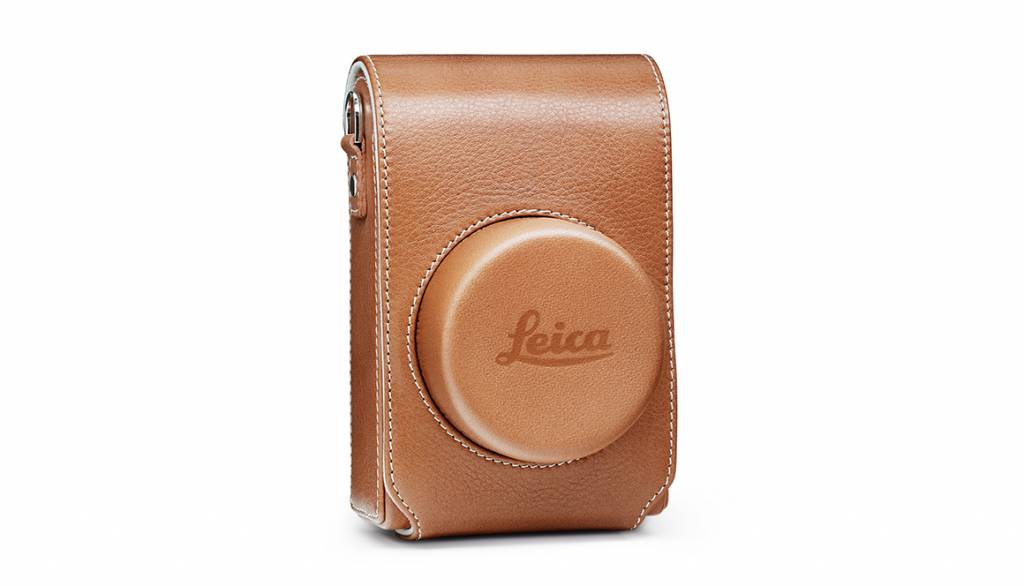 Leica Case, D-LUX (Typ 109), leather, cognac