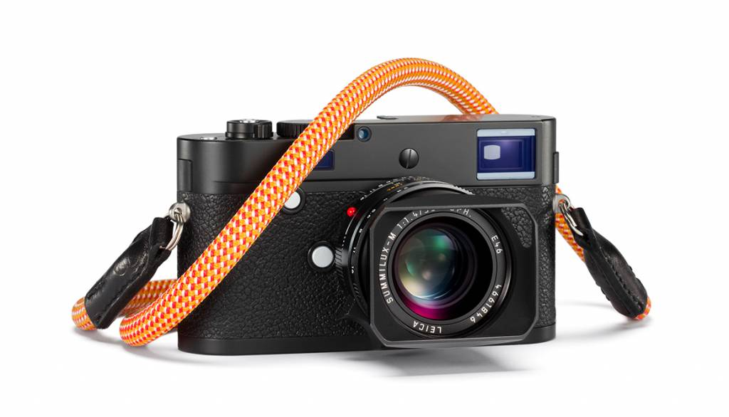 Leica Rope Strap designed by COOPH, 100cm, glowing red