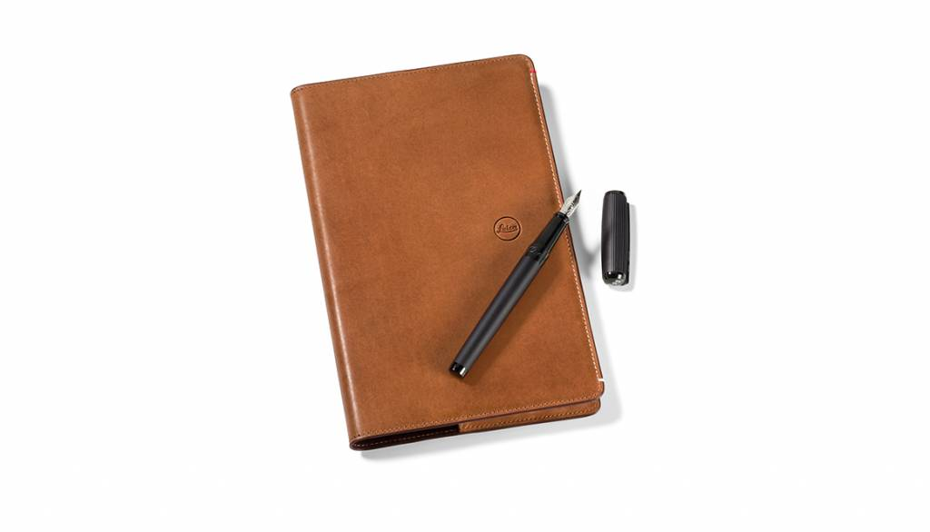 Leica Notebook Cover, leather, brown
