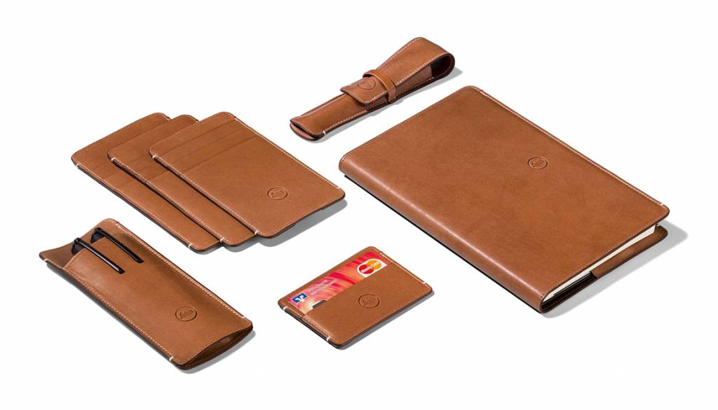 Leica Cardholder, leather, brown