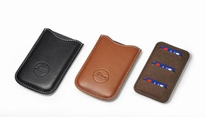 Leica Leica SD and Credit Card Holder, leather, black
