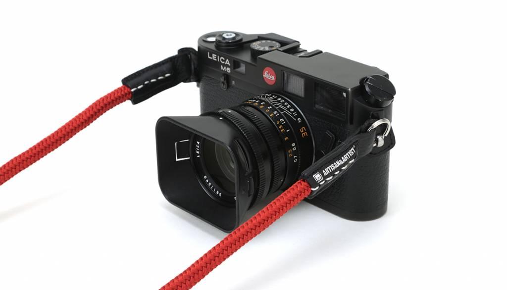 Artisan & Artist ACAM 306N silk camera strap - black