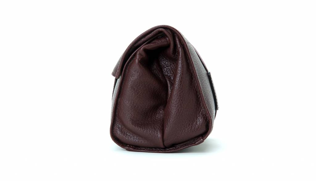 Artisan & Artist ACAM 77 leather soft pouch - brown