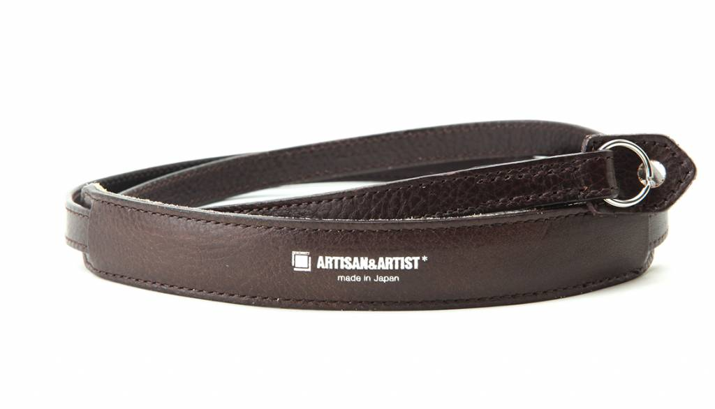 Artisan & Artist ACAM 255A leather camera strap - brown