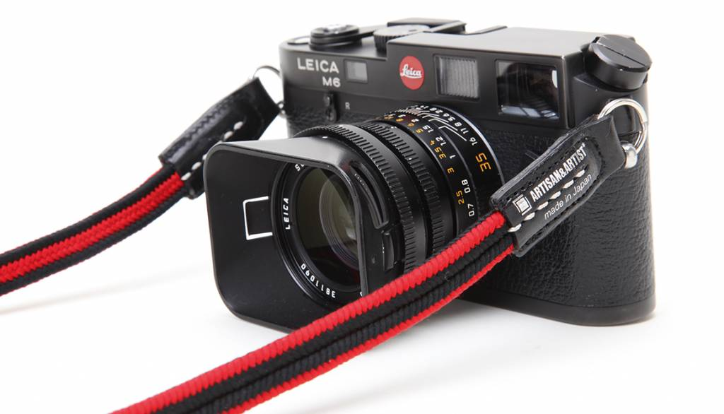 Artisan & Artist ACAM 310N silk camera strap - black