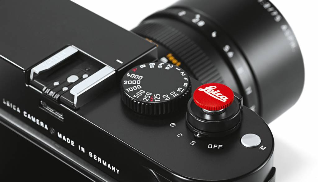 Leica Soft Release Button, M,12mm, black