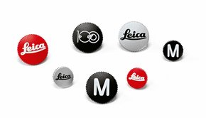 Leica Leica Soft Release Button, 12mm, red