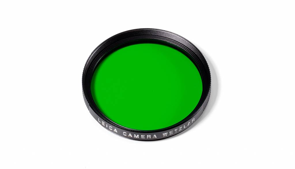 Leica Green Filter, E46, black