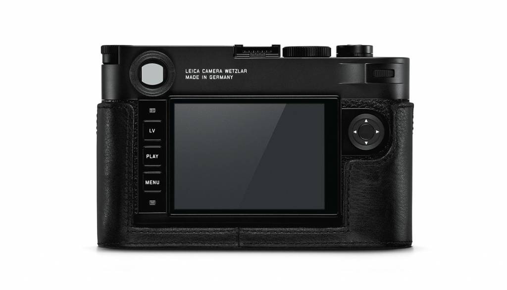 Leica Protector, M10, leather, black