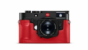 Leica Leica Protector, M10, leather, red