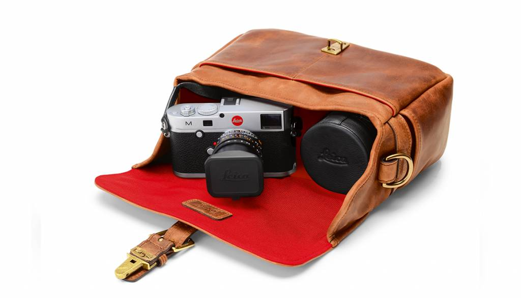 ONA Bowery for Leica, leather, antique cognac