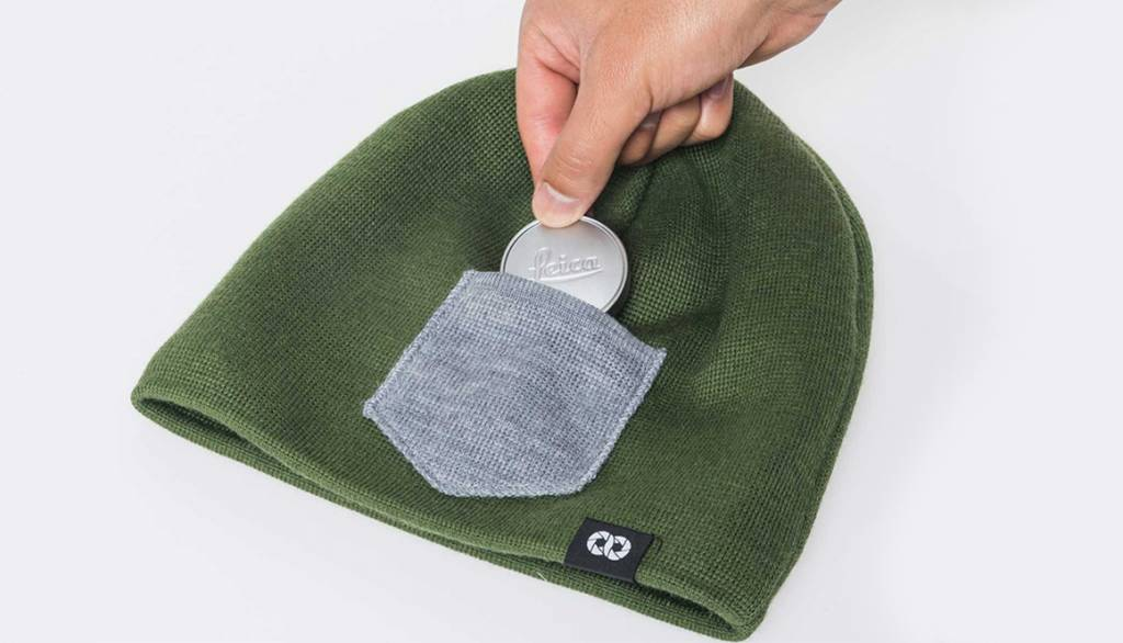 COOPH Beanie WINTER, green/gray