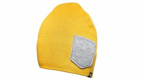 COOPH COOPH Beanie WINTER, sunflower/gray