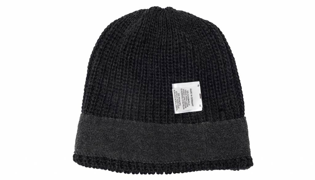 COOPH Pouch Beanie KNIT, gray