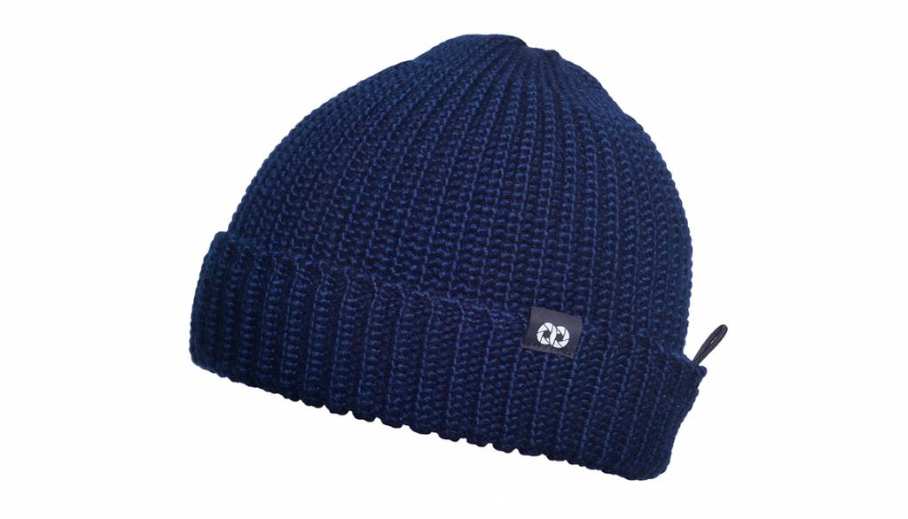 COOPH Pouch Beanie KNIT, navy