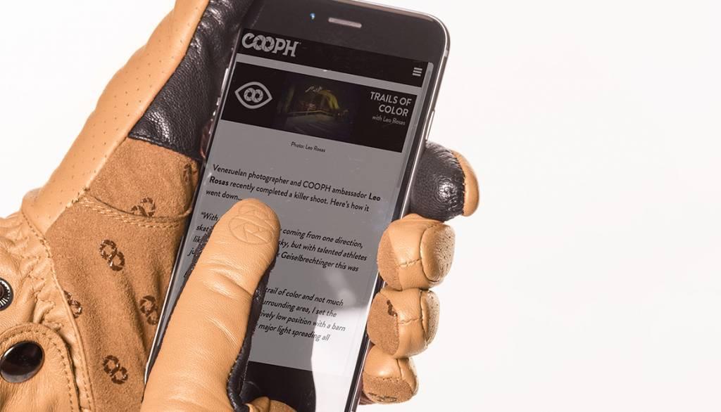 COOPH Photo gloves ORIGINAL, light brown, L