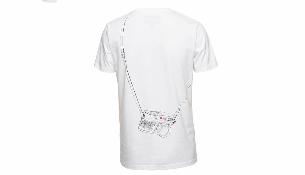 COOPH T-Shirt LEICOGRAPHER, white, S