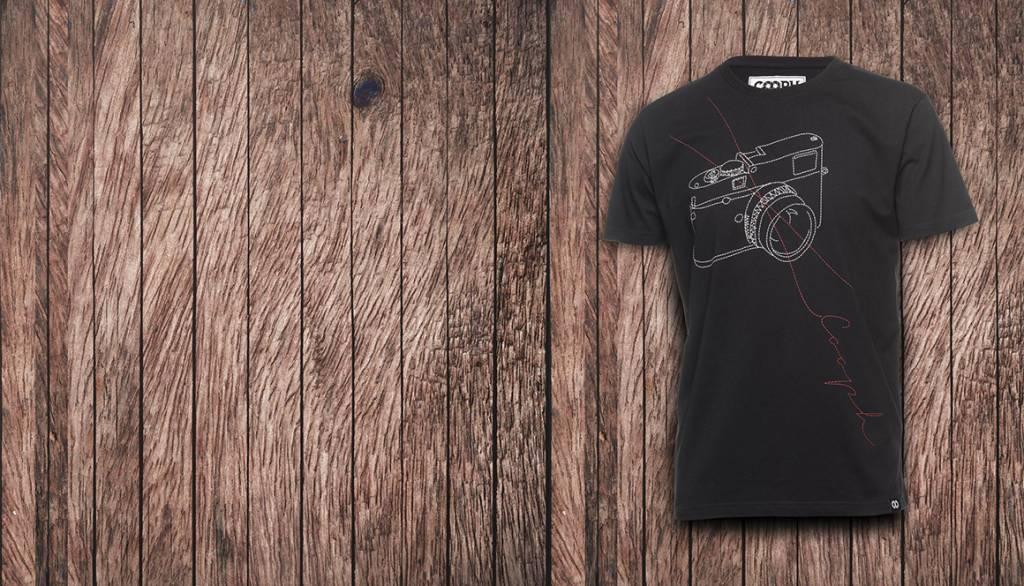 COOPH T-Shirt STITCHCAM, black, XS