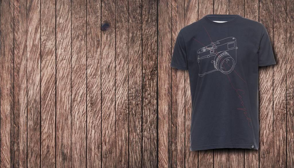 COOPH T-Shirt STITCHCAM, blue, L