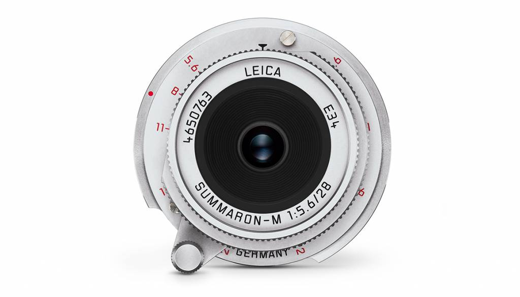 Leica SUMMARON-M 28mm f/5.6, silver