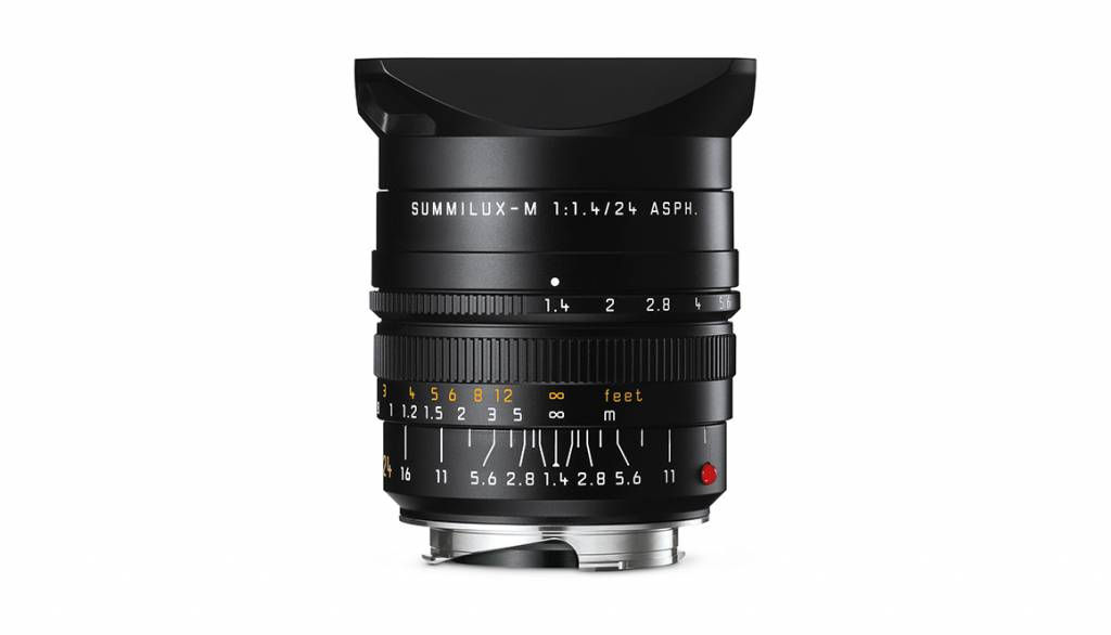 Leica SUMMILUX-M 24mm f/1.4 ASPH., black