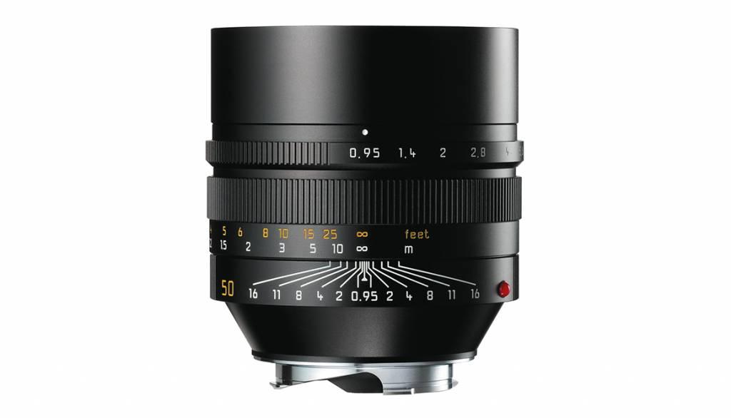 Leica NOCTILUX-M 50mm f/0.95 ASPH., black